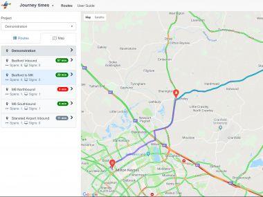 JTM - aplikacja pomiaru ruchu drogowego